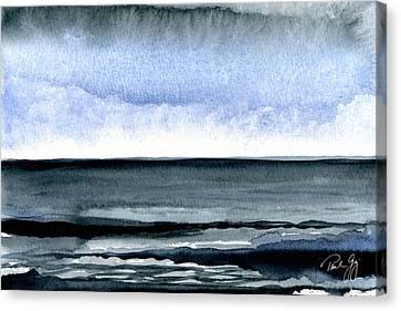 Vineyard Squall Canvas Print by Paul Gaj