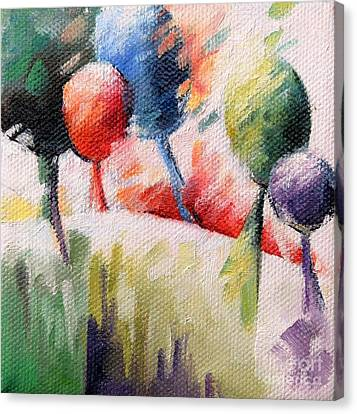 Vingt Arbres Canvas Print by Beatrice BEDEUR