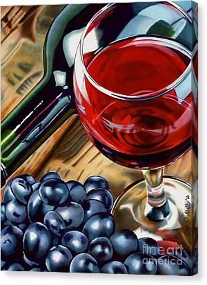 Vino 2 Canvas Print by Cory Still