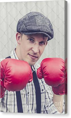 Vintage Boxers Canvas Print by Jorgo Photography - Wall Art Gallery