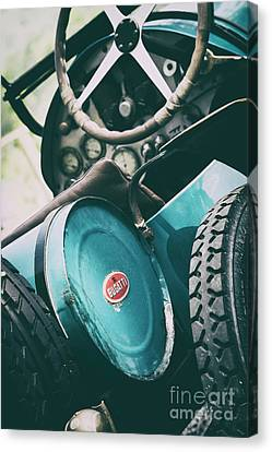 Vintage Bugatti T23 Canvas Print by Tim Gainey