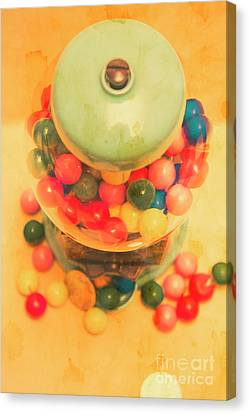 Vintage Candy Machine Canvas Print by Jorgo Photography - Wall Art Gallery