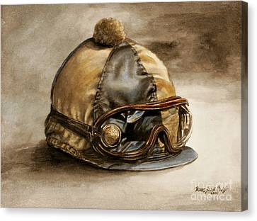 Vintage Cap Canvas Print by Thomas Allen Pauly