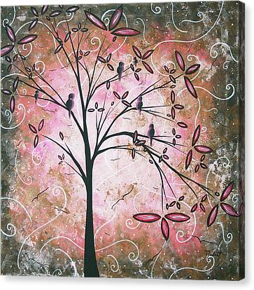 Vintage Couture By Madart Canvas Print by Megan Duncanson
