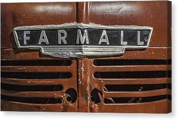 Vintage Farmall Tractor Canvas Print by Scott Norris