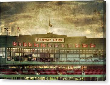 Vintage Fenway Park - Boston Canvas Print by Joann Vitali
