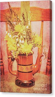 Vintage Fine Art Still Life With Daffodils Canvas Print by Jorgo Photography - Wall Art Gallery