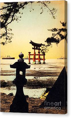 Vintage Japanese Art 23 Canvas Print by Hawaiian Legacy Archive - Printscapes