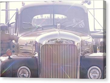 Vintage Mack Canvas Print by Don Youngclaus