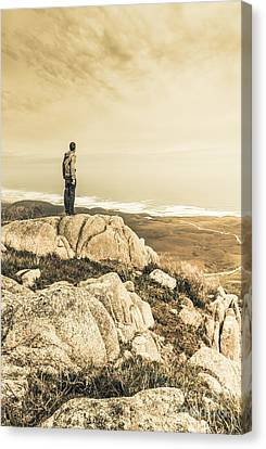 Vintage Mountain Dreamer Canvas Print by Jorgo Photography - Wall Art Gallery