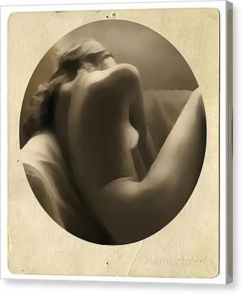 Vintage Nude Canvas Print by Georgiana Romanovna