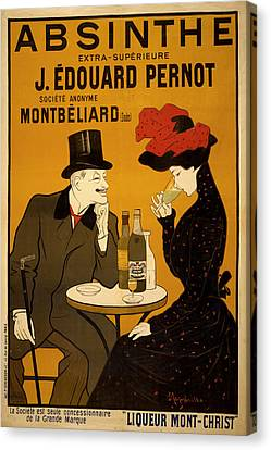 Vintage Poster 2 Canvas Print by Andrew Fare