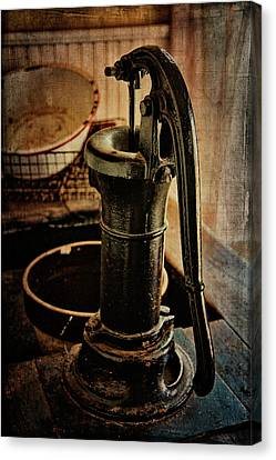 Vintage Sink Canvas Print by Lana Trussell