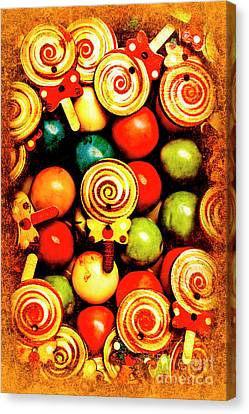 Vintage Sweets Store Canvas Print by Jorgo Photography - Wall Art Gallery
