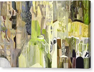 Forest Canvas Print by Georges Charbonneau