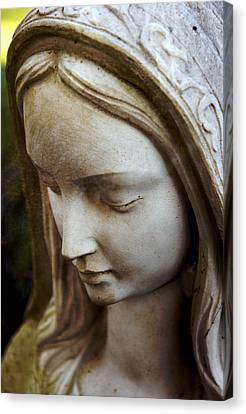 Virgin Mary Canvas Print by Off The Beaten Path Photography - Andrew Alexander