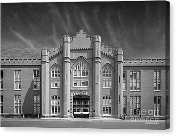 Virginia Military Institute Old Barracks Canvas Print by University Icons