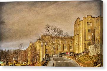 Virginia Military Institute Canvas Print by Todd Hostetter