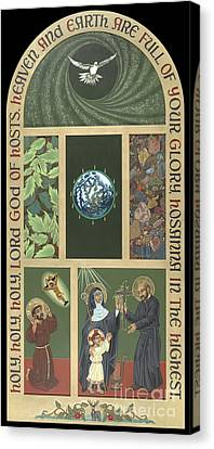 Viriditas - Finding God In All Things Canvas Print by William Hart McNichols
