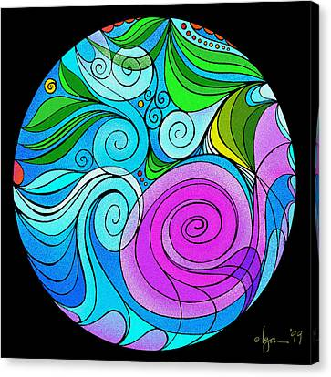 Vitality Canvas Print by Angela Treat Lyon