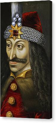 Vlad The Impaler Canvas Print by Unknown