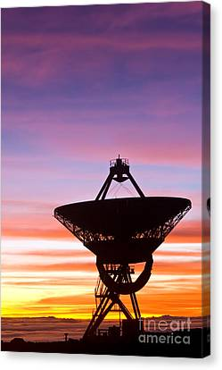 Vlba At Sunrise 2 Canvas Print by David Nunuk
