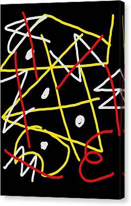 Void Apparent Canvas Print by Paulo Guimaraes