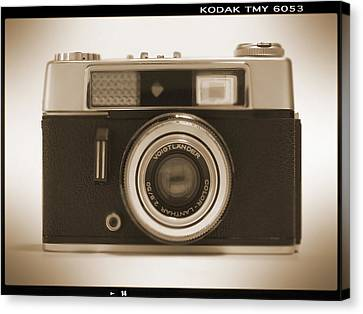 Voigtlander Rangefinder Camera Canvas Print by Mike McGlothlen