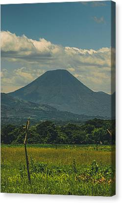 Volcan Chingo Canvas Print by Totto Ponce