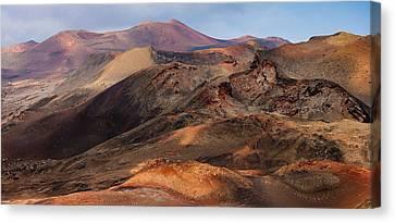 Volcanic Ridges Canvas Print by Neil Buchan-Grant