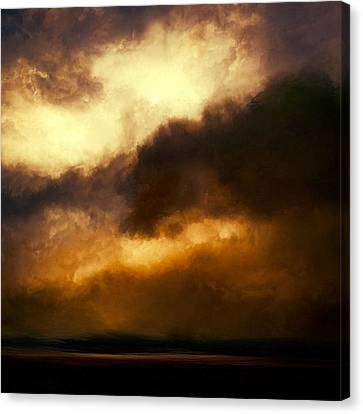 Volcanic Sky Canvas Print by Lonnie Christopher