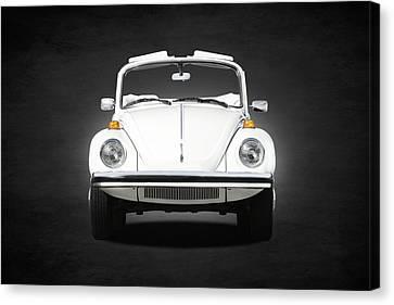 Volkswagen Beetle Canvas Print by Mark Rogan