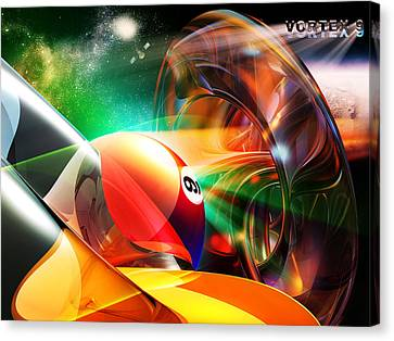 Vortex9 Canvas Print by Draw Shots