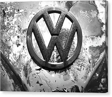 Vw Volkswagen  Canvas Print by Kelly Hazel