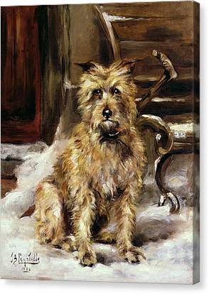 Waiting For Master   Canvas Print by Jane Bennett Constable