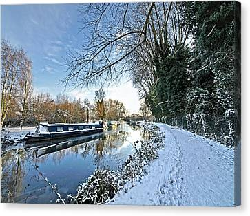 Waiting For Spring Canvas Print by Gill Billington