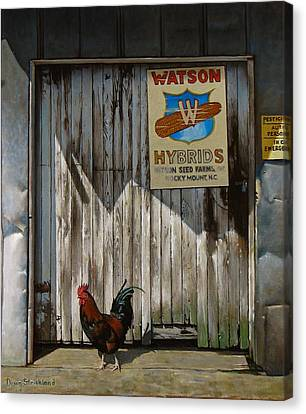 Waiting For Watson Canvas Print by Doug Strickland
