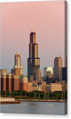 Wake Up Chicago Canvas Print by Sebastian Musial