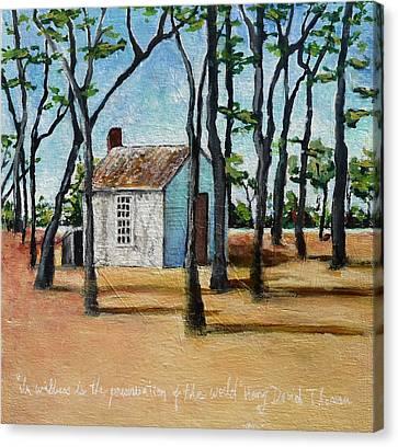 Walden Pond Canvas Print by Deanna White