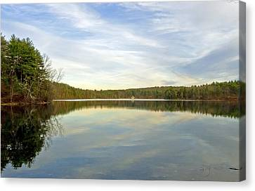 Walden Pond Canvas Print by Frank Winters