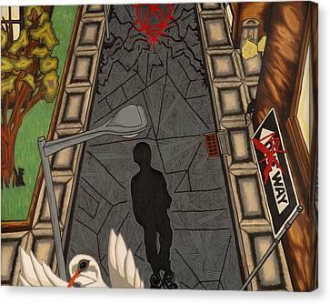 Walk Canvas Print by Angelo Sena