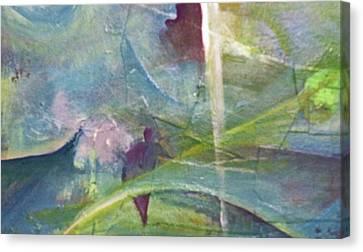 Walking Between Worlds Canvas Print by Robert Daniels