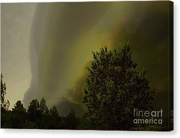 Wall Clouds Canvas Print by The Stone Age
