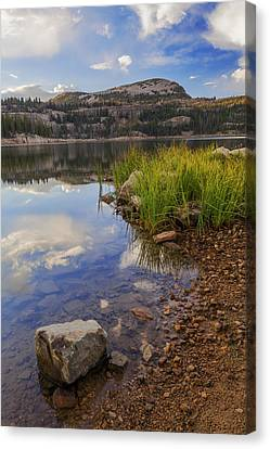 Wall Lake Canvas Print by Chad Dutson