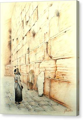 Wall Canvas Print by Lena Day