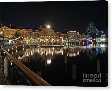 Walt Disney World - Boardwalk Villas  Canvas Print by AK Photography