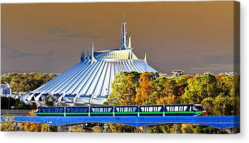 Walts Modern Vision Canvas Print by David Lee Thompson