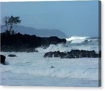 Wameia Sun Waves Canvas Print by Karen Wiles