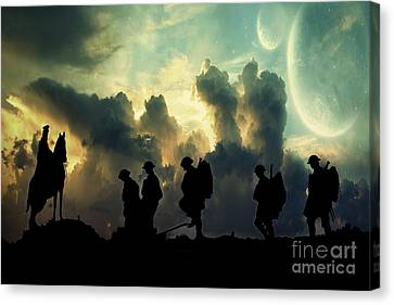 War Zone Canvas Print by Stephen Smith