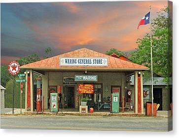 Waring General Store Canvas Print by Robert Anschutz